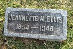 Jeannette M. <I>Young</I> Ellis