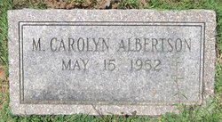 Carolyn M. Albertson