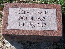 Cora J. <I>Jones</I> Ball
