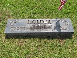 Flaudia <I>Young</I> Holder