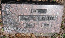 Edmond E Rickert