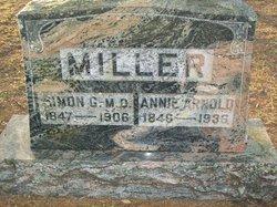 Annie Maria <I>Arnold</I> Miller