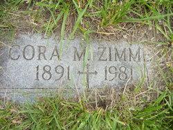 Cora M Zimmer