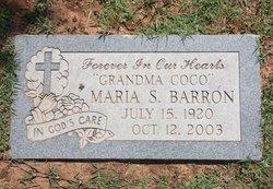 Maria S Barron
