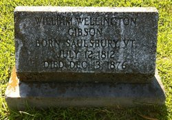 William Wellington Gibson