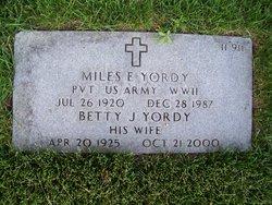 Miles E. Yordy