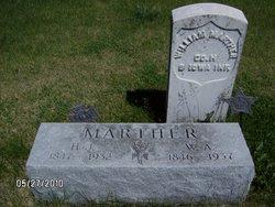 Hannah Jane <I>Hutchinson</I> Marther