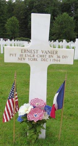 Pvt Ernest Vanier