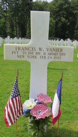 "Pvt Francis William ""Fran"" Vanier"