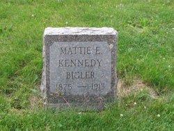 Mattie E <I>Kennedy</I> Bigler