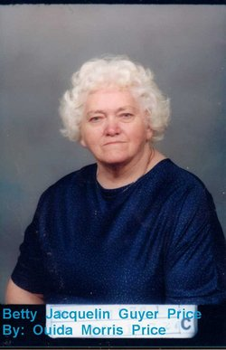 Betty Jacquelin <I>Guyer</I> Price