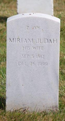 Miriam Judah Gano