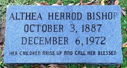 Althea <I>Herrod</I> Bishop
