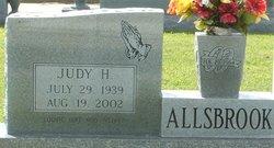 "Judith Maureen ""Judy"" <I>Hodges</I> Allsbrook"
