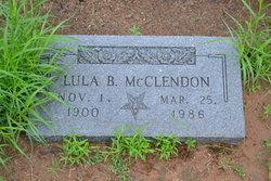 Lula Anderson <I>Bell</I> McClendon