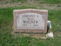 "Dorothy B ""Granny"" <I>Boge</I> Wagner"