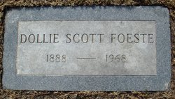 Dollie <I>Scott</I> Foeste