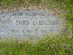 Shad Lymon Wilson