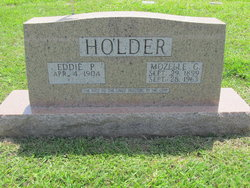 "Eddie P ""Bud"" Holder"