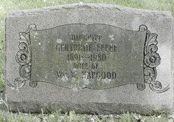 Gertrude M <I>Fefee</I> Hapgood