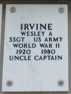 Wesley Arthur Irvine
