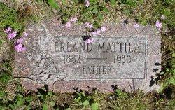 Erland Wilhelm Mattila