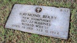 Sgt Raymond Berry