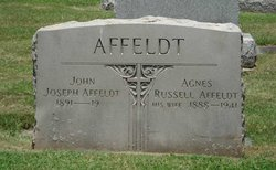 Agnes <I>Russell</I> Affeldt
