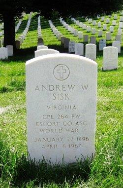 Andrew W Sisk
