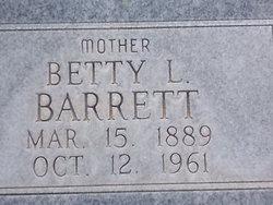 Betty L Barrett