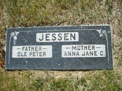 Anna Jane <I>Coates</I> Jessen