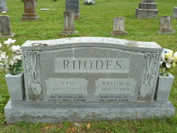 "William Tarpley ""Tarp"" Rhodes"