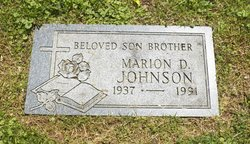 Marion D Johnson