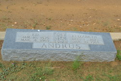 Elizabeth <I>Martin</I> Andrus