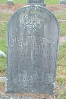 Julia Ann <I>Lewis</I> Lardner