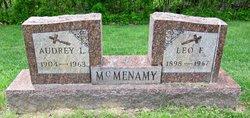 Audrey L <I>Fitzer</I> McMenamy