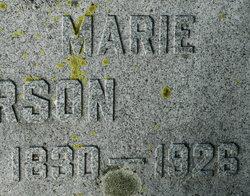 Maria <I>Nilsdtr</I> Anderson