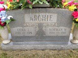 Cora J <I>McCoy</I> Archie