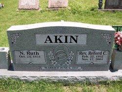 Rev Reford Cleveland Akin