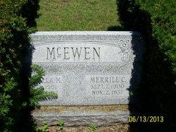 Marcella M <I>Kammerer</I> McEwen