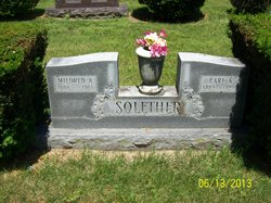 Mildred A <I>Meeker</I> Solether