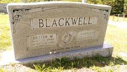 Detter M. <I>Rogers</I> Blackwell