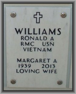 "Margaret Anne ""Peggy"" <I>Walsh</I> Williams"