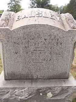 Rev Albern N. Balsley