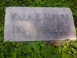 Villa B. Alford