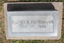 Henry W. Pahrmann
