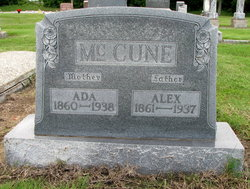 Ada <I>Martin</I> McCune