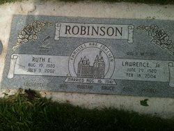 Ruth Vella <I>Ellison</I> Robinson