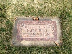 Theodora Marian <I>Eves</I> Hatfield