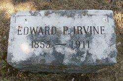 Edward P Irvine